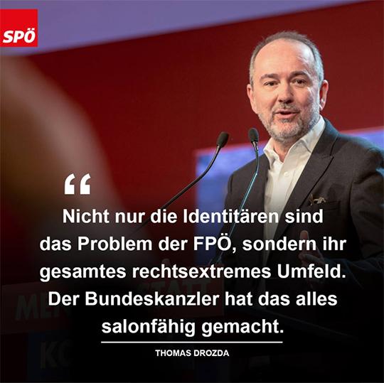FPÖ und Identitäre – Wir fordern Konsequenzen von Kurz!